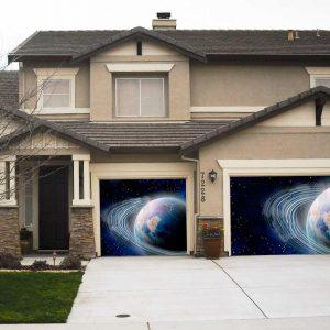 Blue planet garage screen
