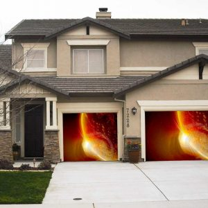 Red planet garage screen