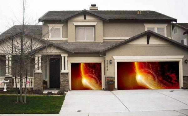 Red planet garage screen
