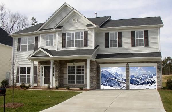 mountains 1 garage screen